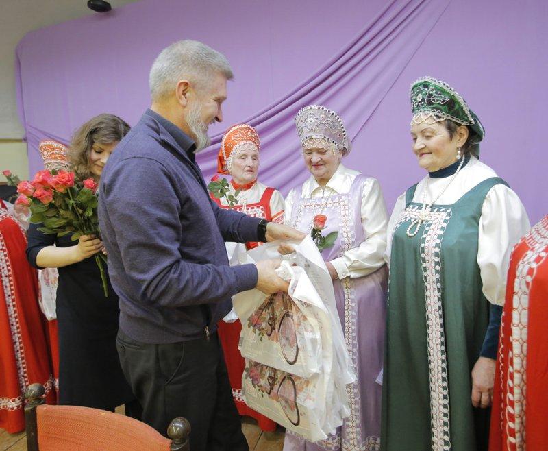 Поздравление всероссийскому обществу слепых